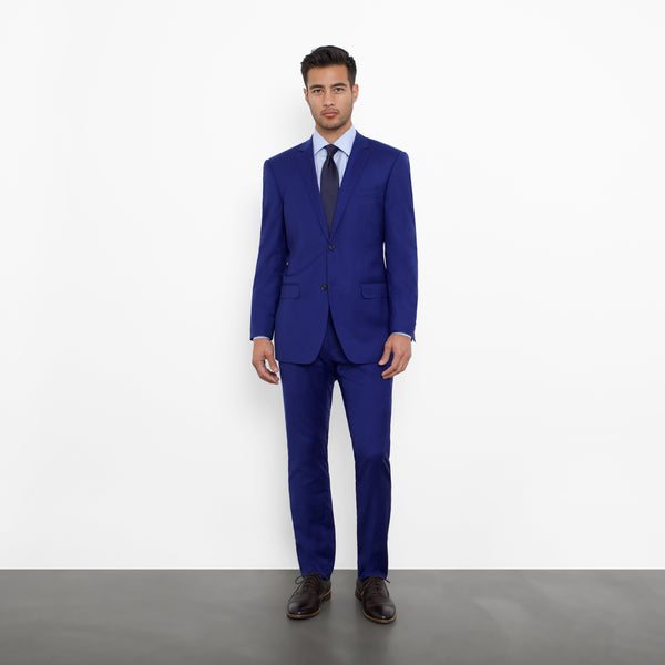 Royal Blue NanoStretch Slim Fit Suit