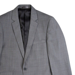 Charcoal Glen Plaid Tailored Fit Suit Jacket