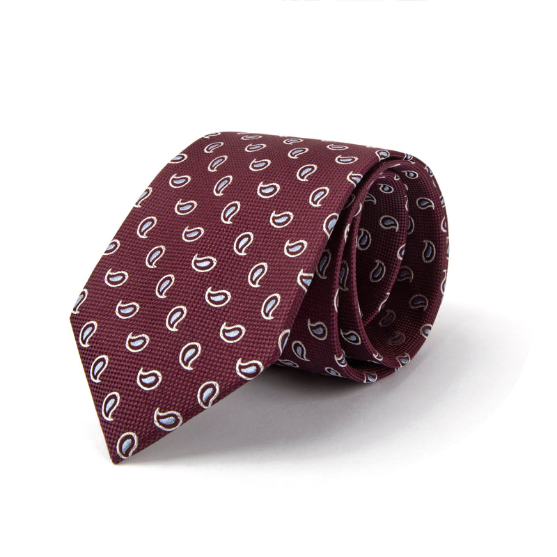 Red All Over Paisley Tie