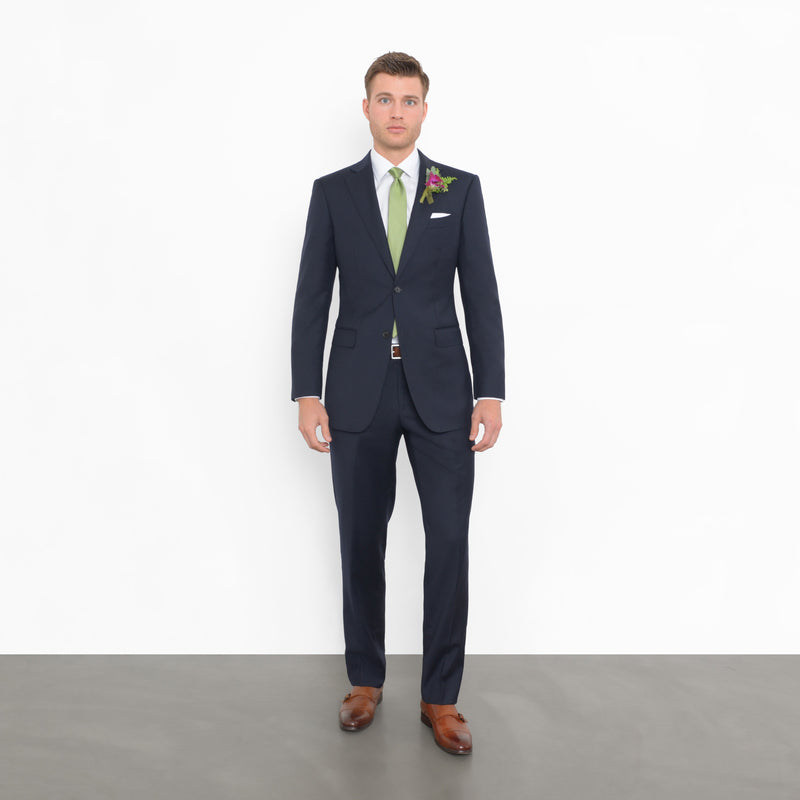 Navy Tailored Fit Suit