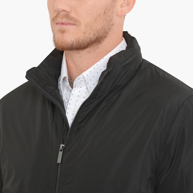 Black Nylon Jacket