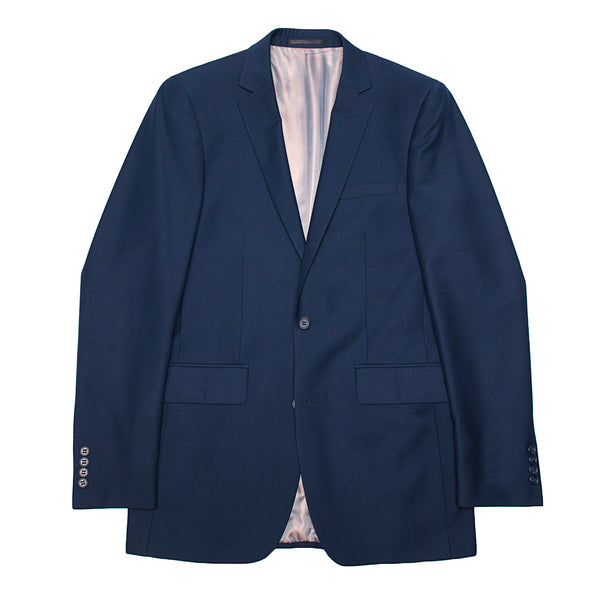 Essential Blue Modern Fit Suit Jacket