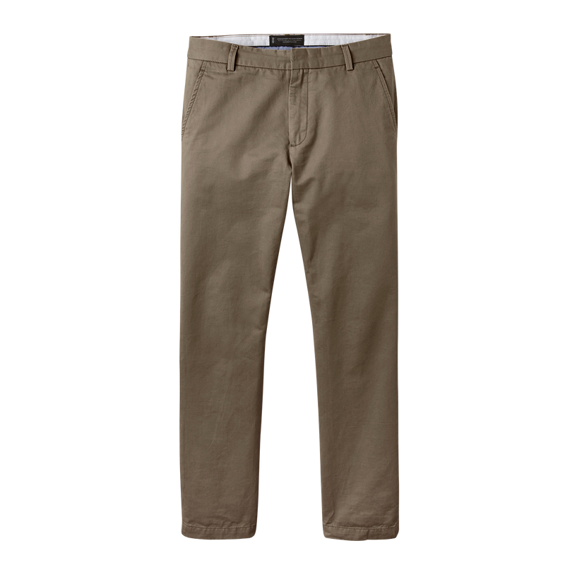Olive Straight Stretch Chino Pant