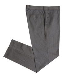 Lavender & White on Charcoal Pinstripe Workhorse Pants