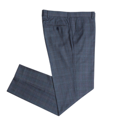 Blue Windowpane Blue Glen Plaid Workhorse Pants
