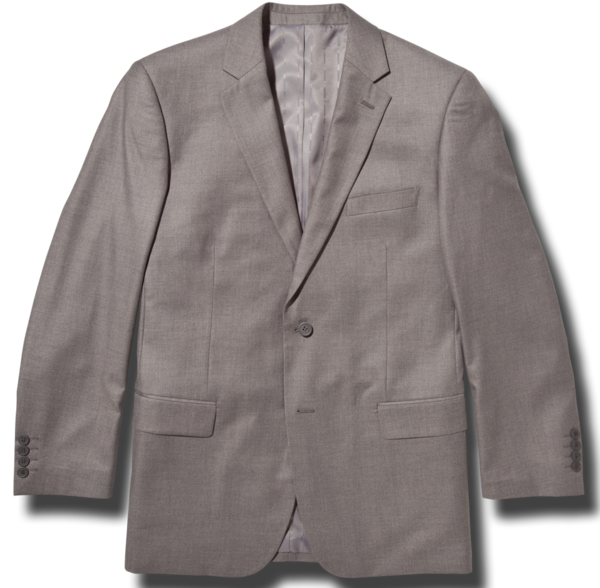 Essential Grey Modern Fit Suit Jacket