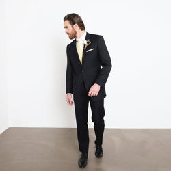 Black Two-Piece Suit