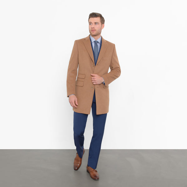 Camel Wool Overcoat