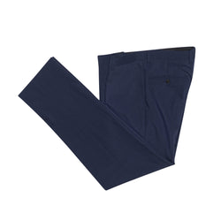 Dark Navy Microcheck Slim Fit Suit Pant