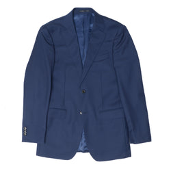 The New Essential Blue Modern Fit Suit Jacket