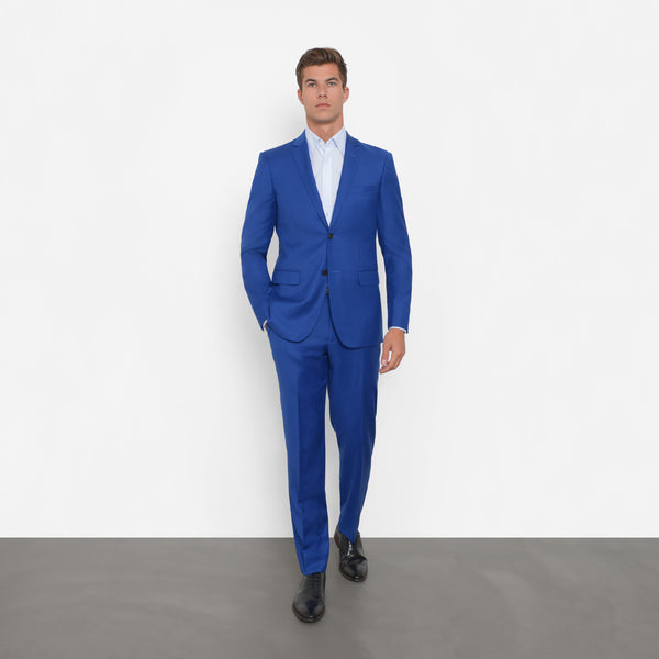 new arrival look good shoes sale really cheap Royal Blue Slim Fit Suit – Combatant Gentlemen
