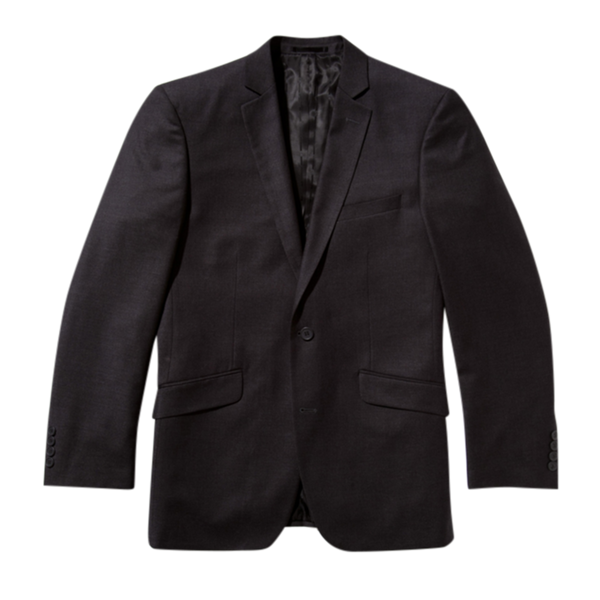 Essential Charcoal Slim Fit Suit Jacket
