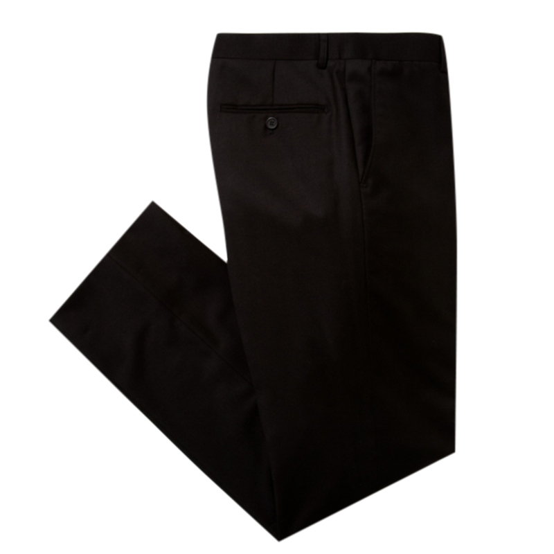 Essential Black Slim Fit Suit Pant