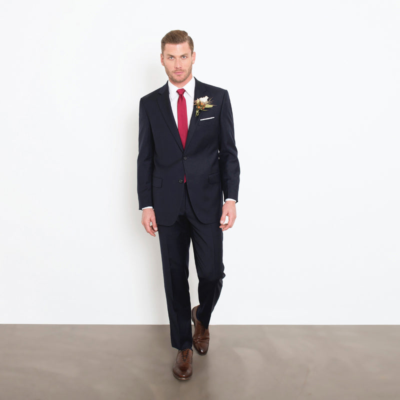 Navy Two-Piece Suit