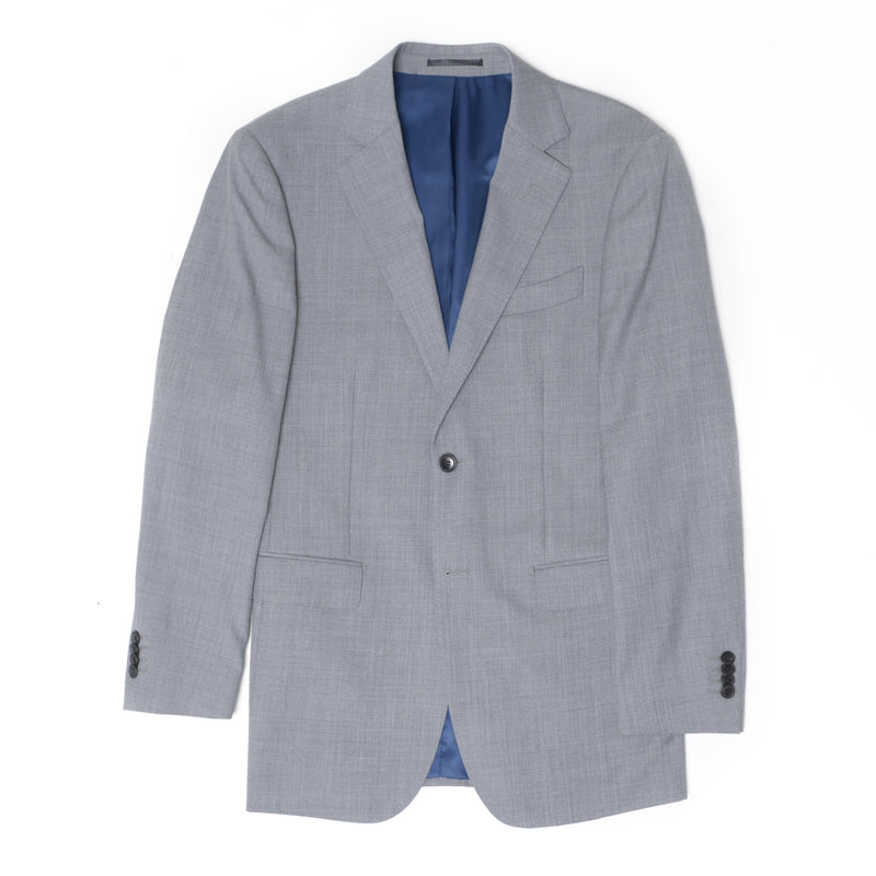 Essential Grey Tailored Fit Suit Jacket
