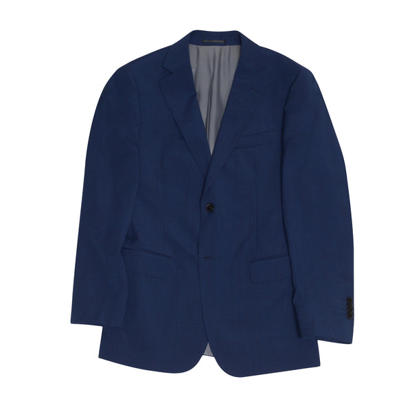 Blue Nailhead Tailored Fit Suit Jacket