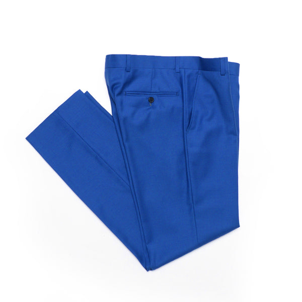 Essential Royal Blue Slim Fit Suit Pant