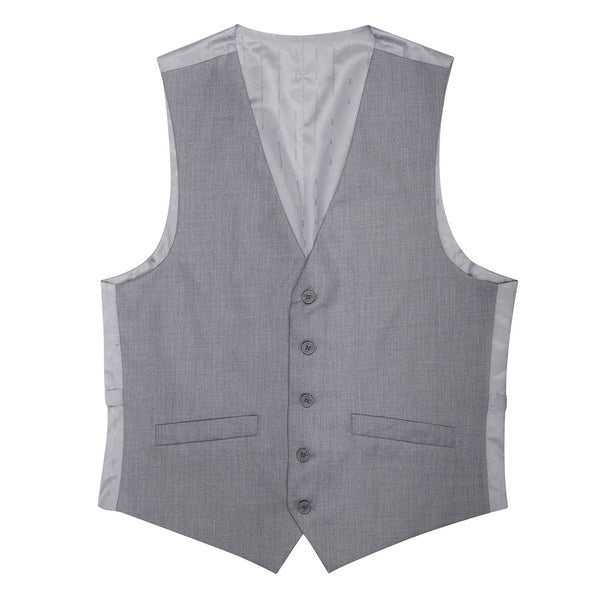 Essential Grey Slim Fit Suit Vest