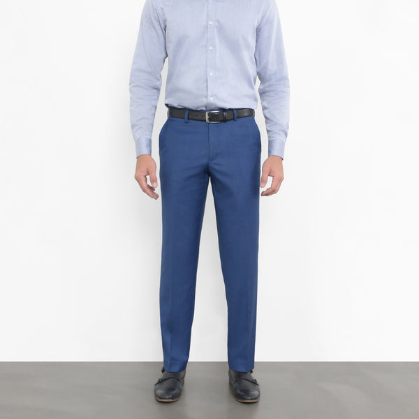 Deep Blue Sharkskin Workhorse Pants