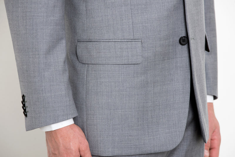 Grey Three-Piece Suit