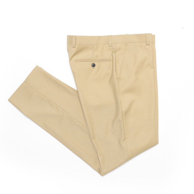 Essential Tan Tailored Fit Suit Pant