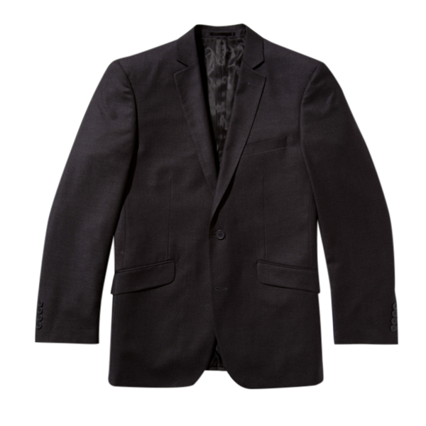Essential Charcoal Modern Fit Suit Jacket
