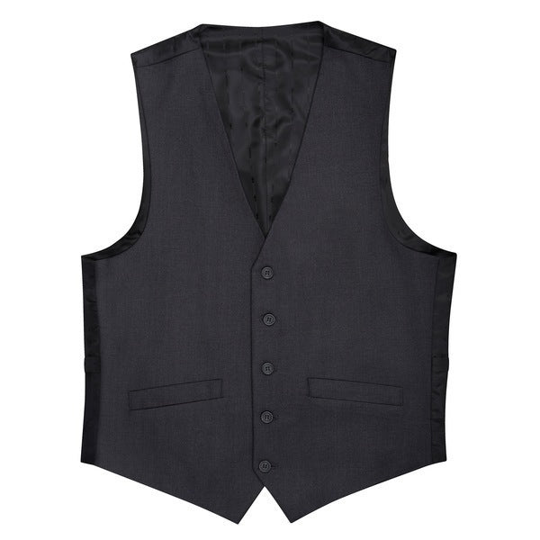 Essential Charcoal Modern Fit Suit Vest