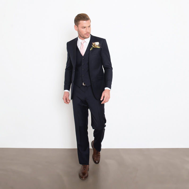 Navy Three-Piece Suit