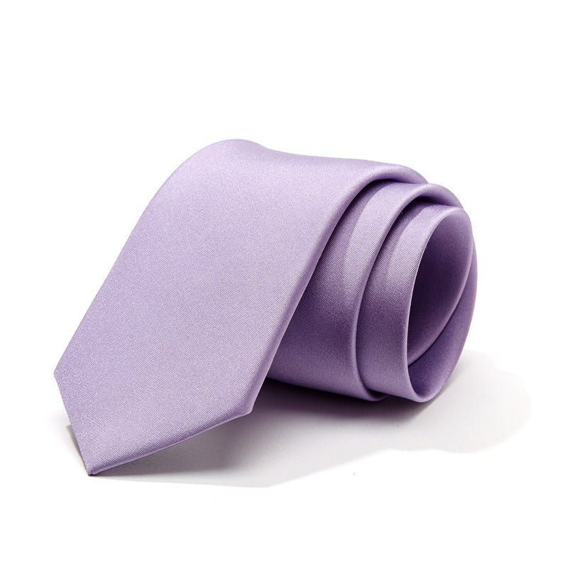 Evening Lavender Silk Tie