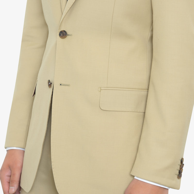 Tan Tailored Fit Suit