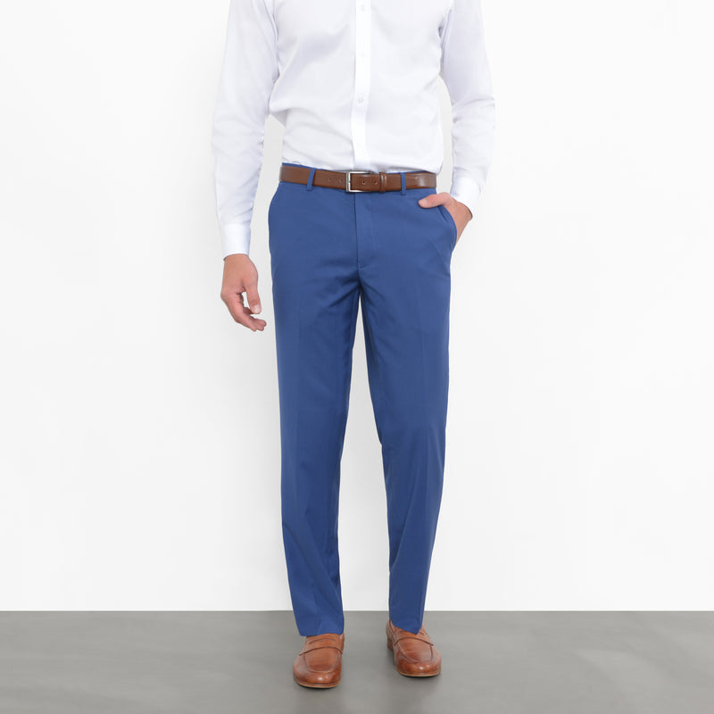 Royal Blue Pinstripe Workhorse Pants