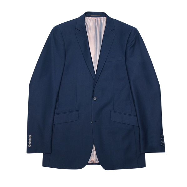 Essential Blue Slim Fit Suit Jacket
