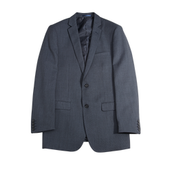 Charcoal Herringbone Tailored Fit Suit Jacket