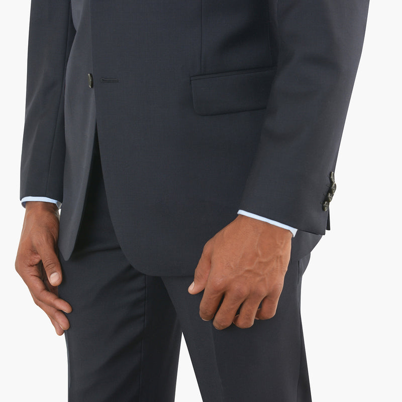 Navy Blue Modern Fit Suit