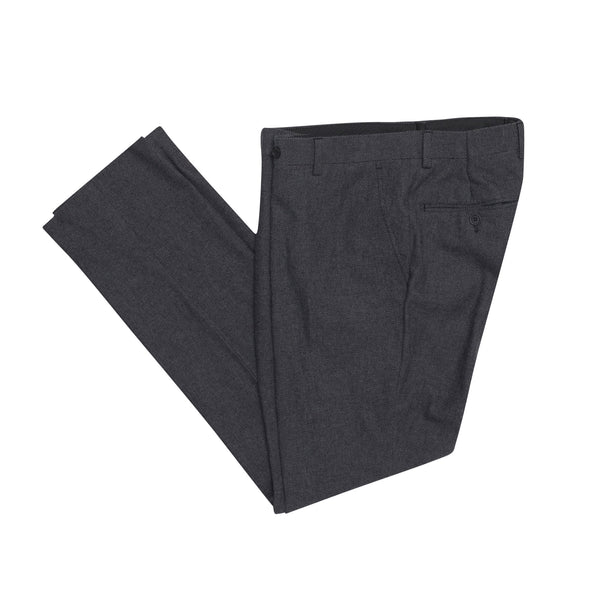 Black Nailhead Slim Fit Suit Pant