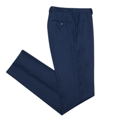 Essential Blue Slim Fit Suit Pant