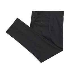 Charcoal Cotton Birdseye Tailored Fit Suit Pant