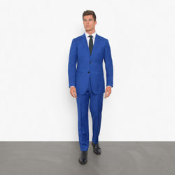 Royal Blue Tailored Fit Suit