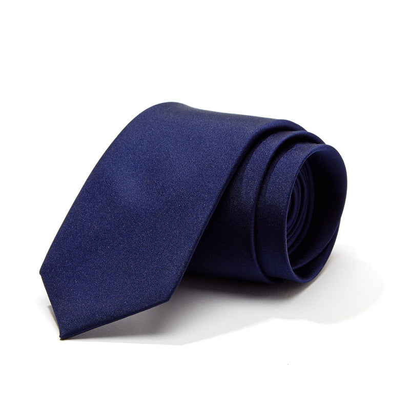 Nautical Navy Silk Tie