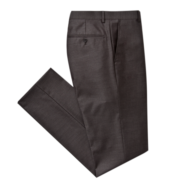 Essential Charcoal Slim Fit Suit Pant