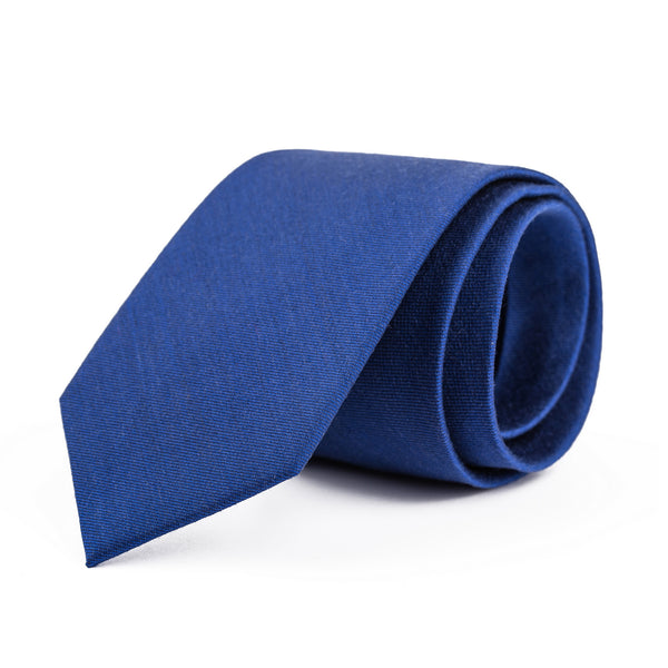 Royal Blue Twill Tie
