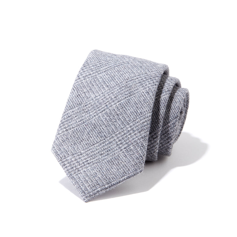 Grey Glen Plaid Tie