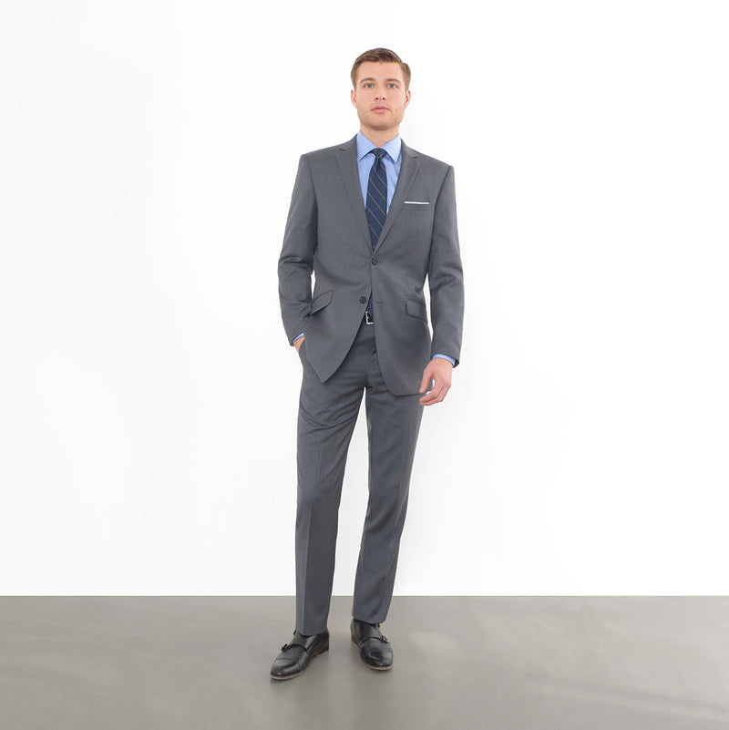 Charcoal Slim Fit Suit