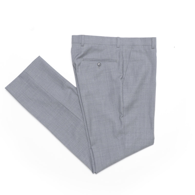 Essential Grey Tailored Fit Suit Pant