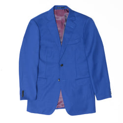 Essential Royal Blue Tailored Fit Suit Jacket