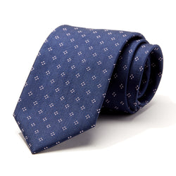 Boxes on Navy Tie