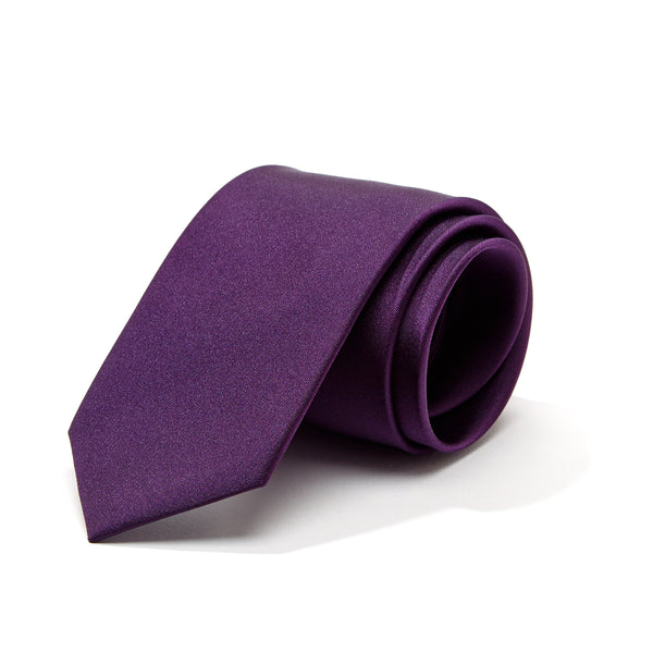 Royal Purple Silk Tie