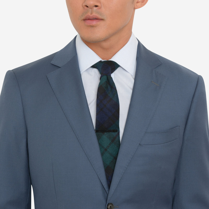 Slate Blue Tailored Fit Suit