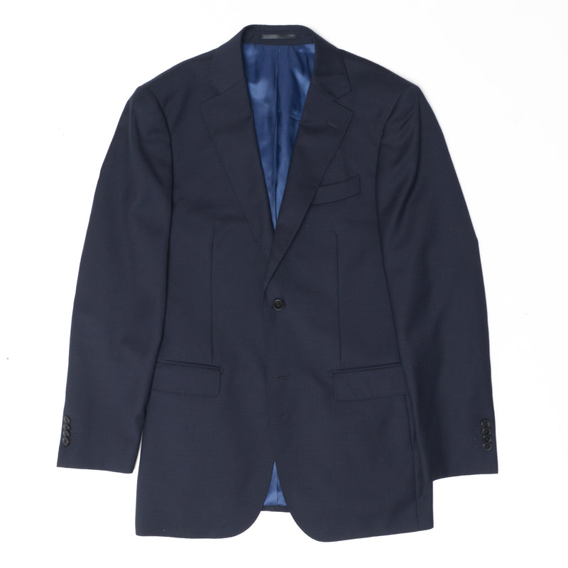 The New Essential Navy Tailored Fit Suit Jacket