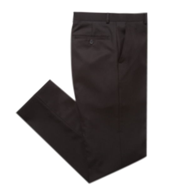 Essential Black Modern Fit Suit Pant